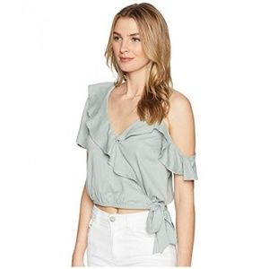 ASTR The Label Tansy Top in Sage